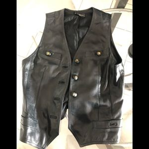 Chanel original leather jacket in good condition!